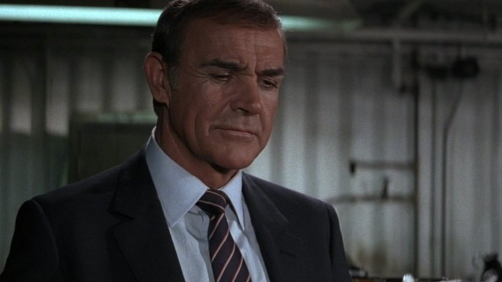 Sean Connery as James Bond in Never Say Never Again