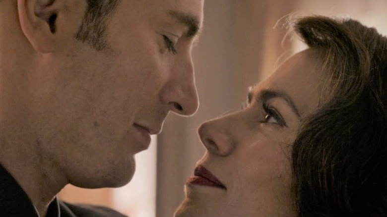 Chris Evans and Hayley Atwell in Avengers: Endgame