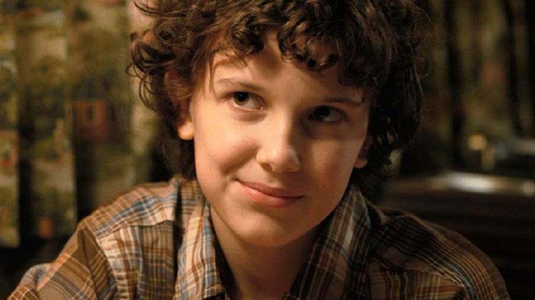 Stranger Things Eleven smile