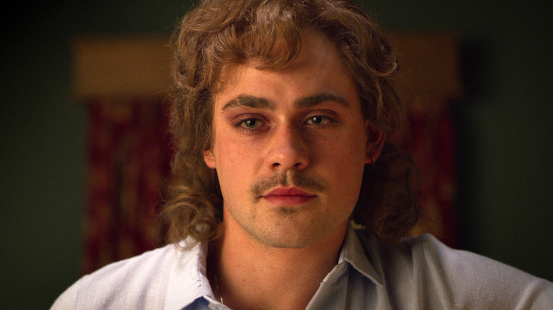 Dacre Montgomery as Billy Hargrove on Stranger Things