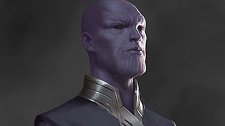 Avengers: Endgame concept art young Thanos