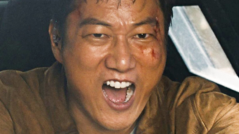 Sung Kang yelling in F9