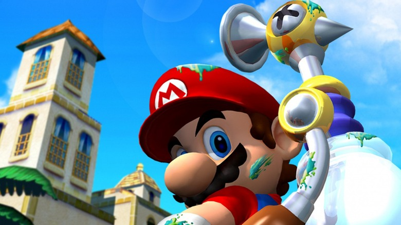 Super Mario Sunshine with FLUDD