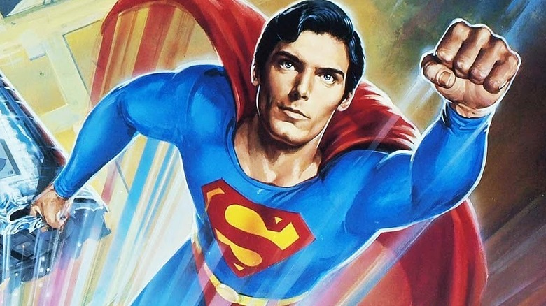 Poster art for Superman IV: The Quest for Peace