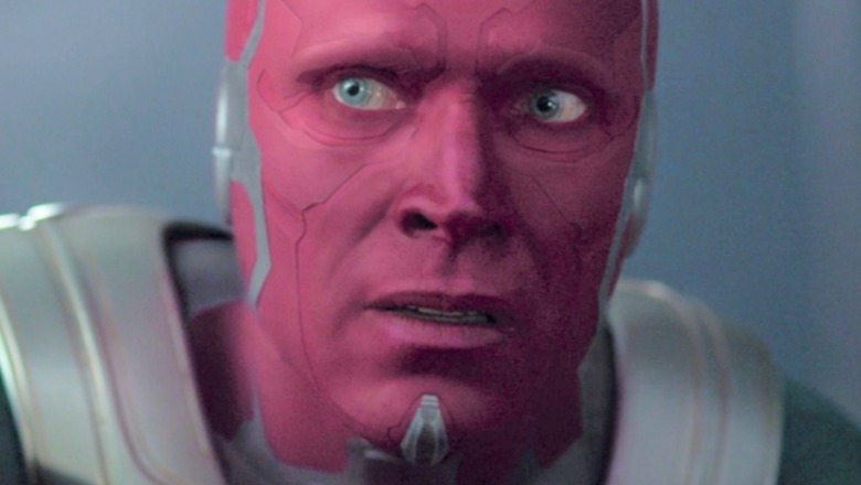 Vision looking scared
