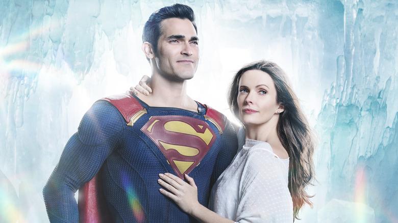 Tyler Hoechlin as Superman, Elizabeth Tulloch as Lois Lane