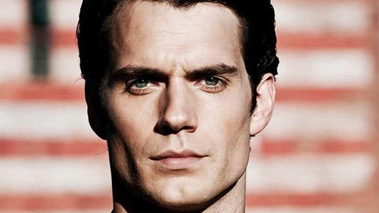Henry Cavill Superman stares ahead
