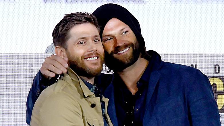 Jensen Ackles and Jared Padalecki at San Diego Comic-Con 2019
