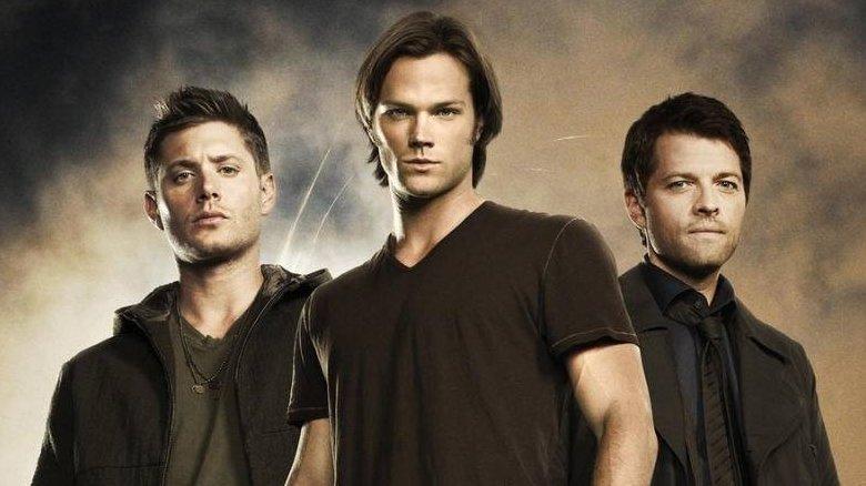 Jensen Ackles Jared Padalecki and Misha Collins Supernatural