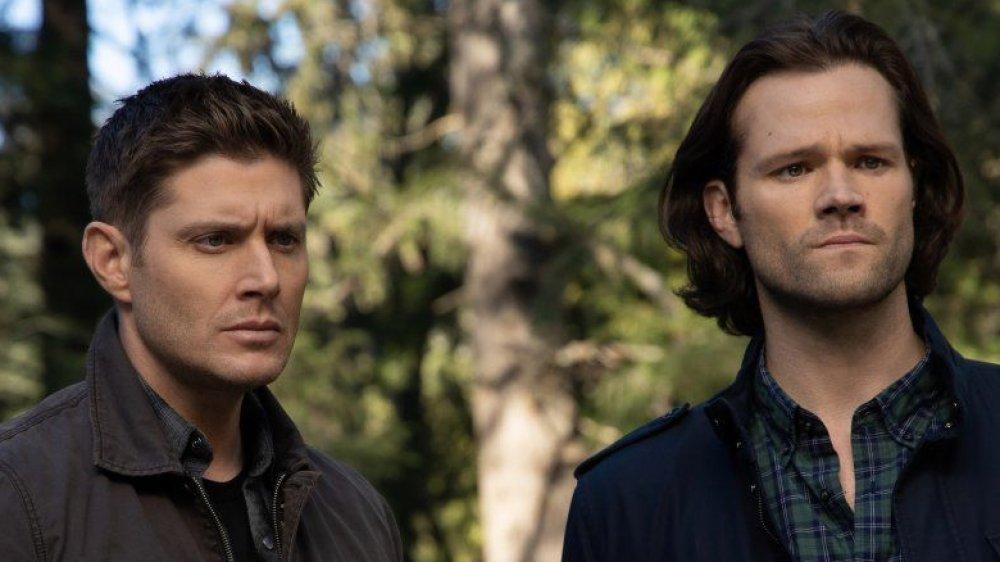 Jared Padalecki and Jensen Ackles on Supernatural