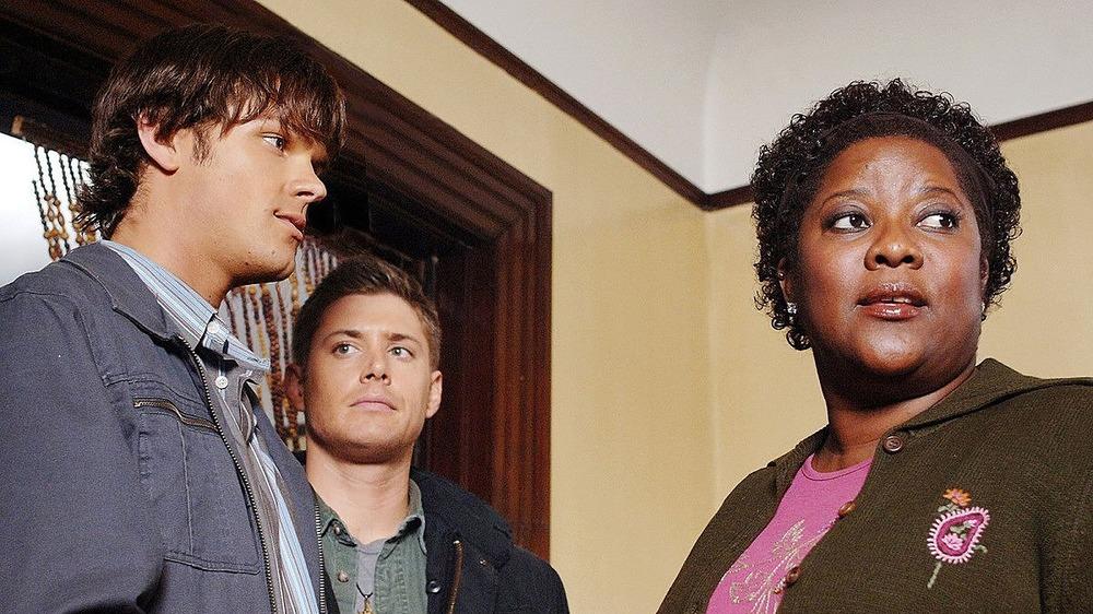 Sam, Dean, and Missouri on Supernatural