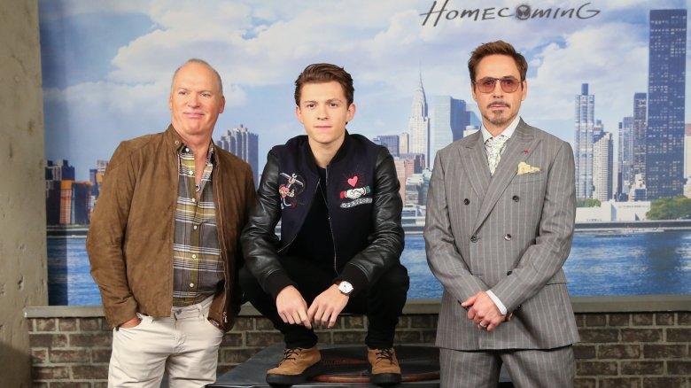Keaton, Holland and Downey Jr.