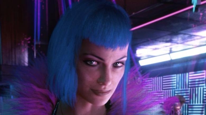 Evelyn Parker in Cyberpunk 2077