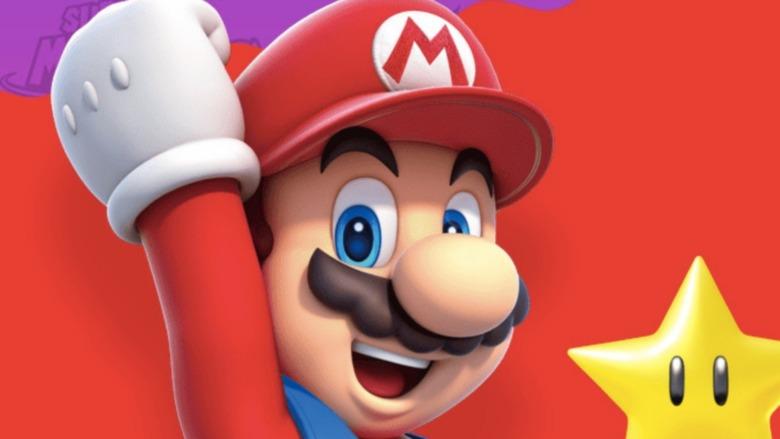 Mario excited