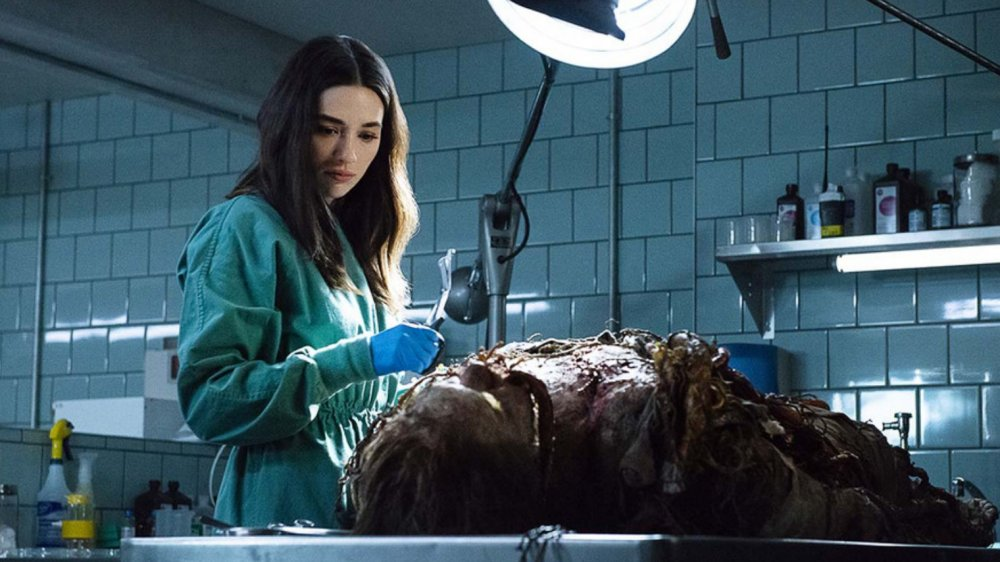Swamp Thing's Crystal Reed
