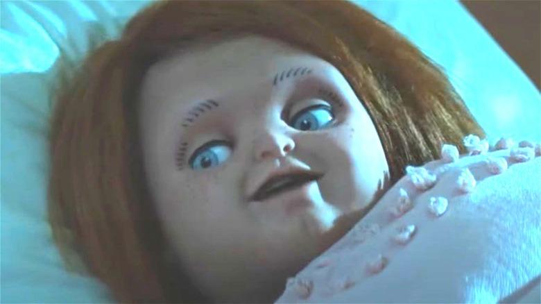 Chucky smiles in the trailer for the Chucky TV series