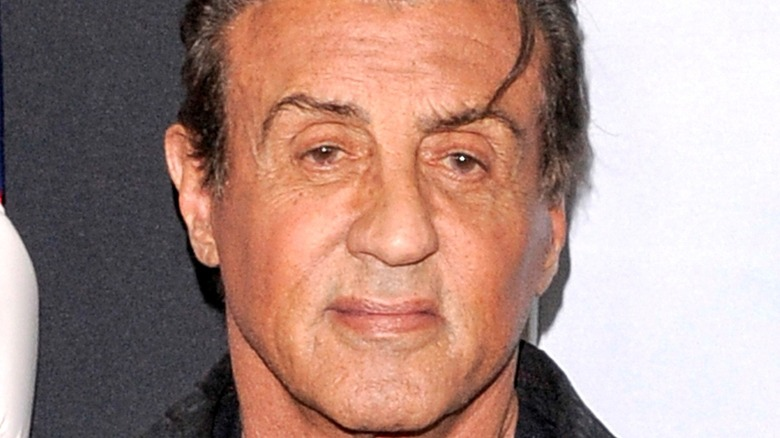Stallone smiling