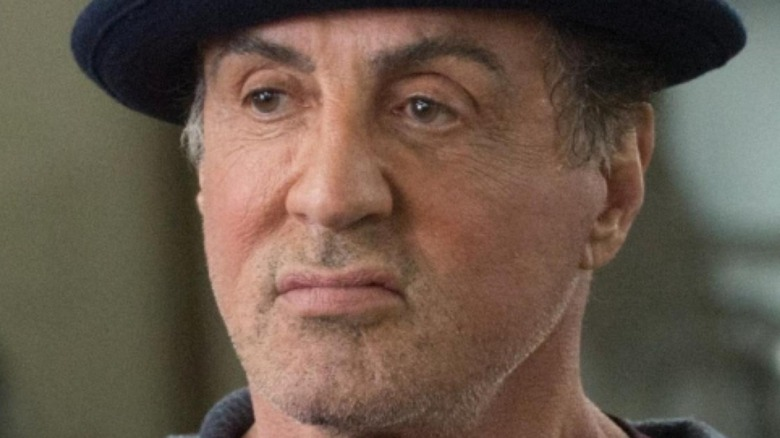 Stallone playing Rocky in Creed