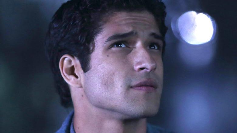 Scott looking up on Teen Wolf