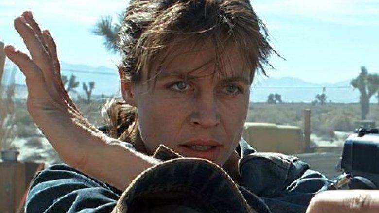 Linda Hamilton Sarah Connor Terminator