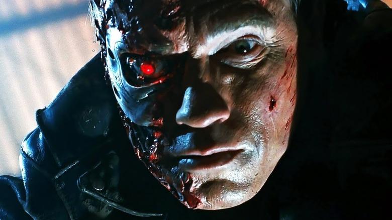 Damaged Terminator face