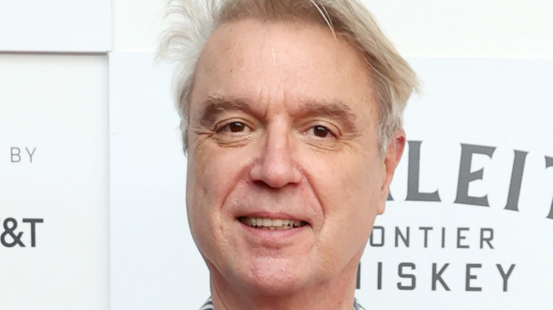 David Byrne attending Tribecca