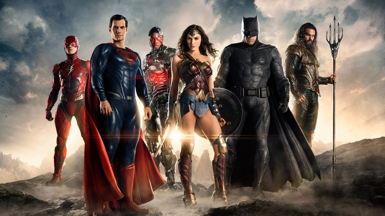 the main cast of 2017's Justice League