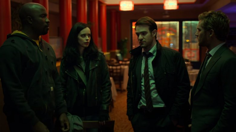Scene from The Defenders
