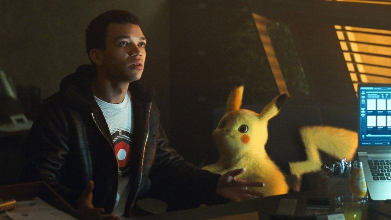 Tim and Pikachu