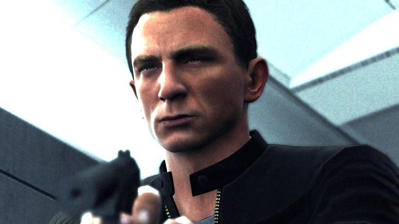 Daniel Craig as James Bond in game