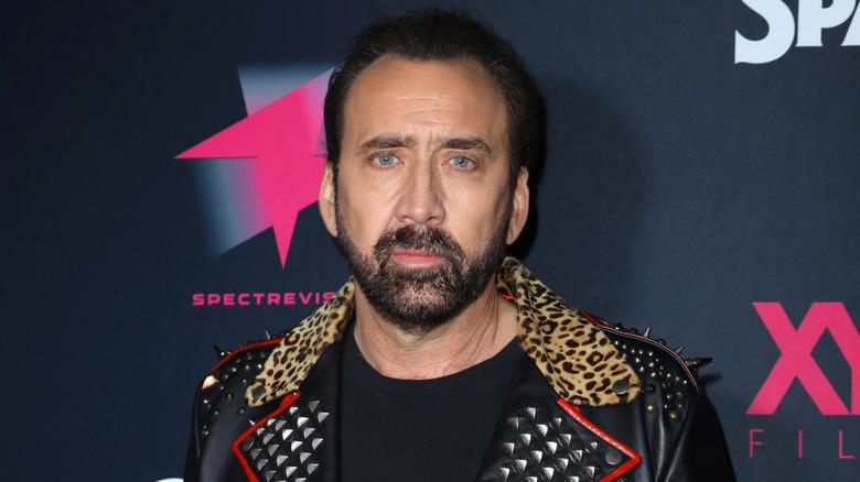 Nicolas Cage on red carpet