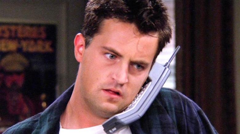 Chandler Bing on the phone