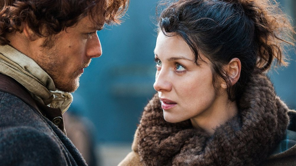 Caitriona Balfe as Claire Randall Fraser on Outlander