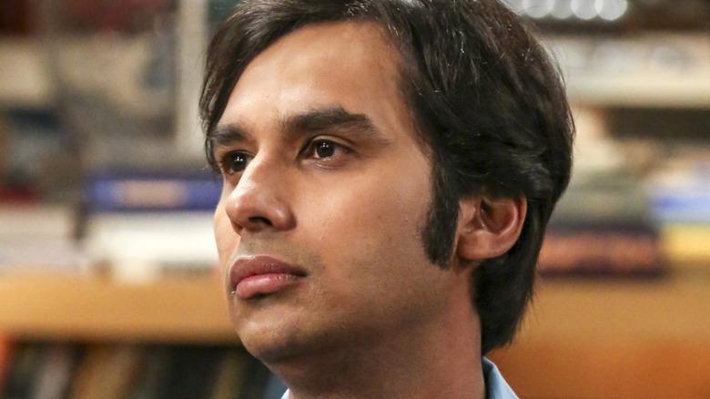 Raj The Big Bang Theory serious face