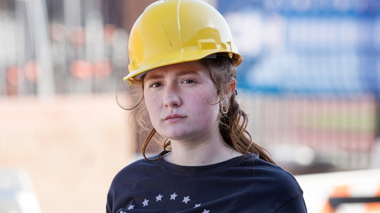 Emma Kenney as Debbie Gallagher on Shameless