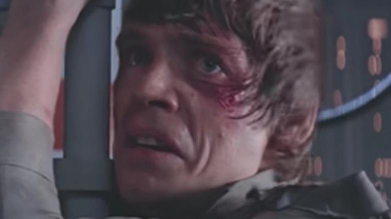 Luke Skywalker scarred face