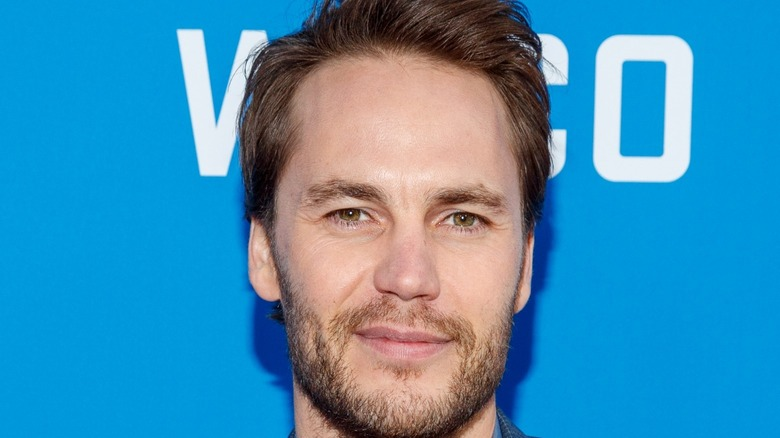 Taylor Kitsch smiling
