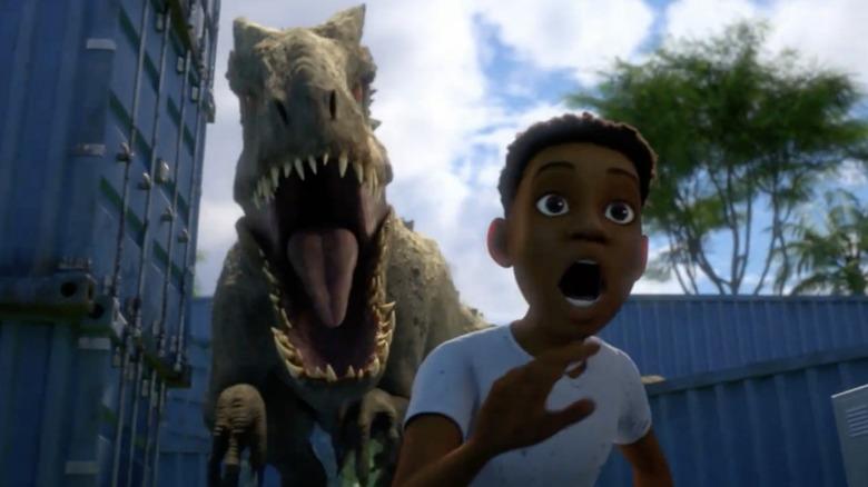 Paul-Mikél Williams as Darius Bowman on Jurassic World: Camp Cretaceous