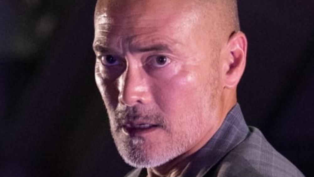 Mark Dacascos looking grim