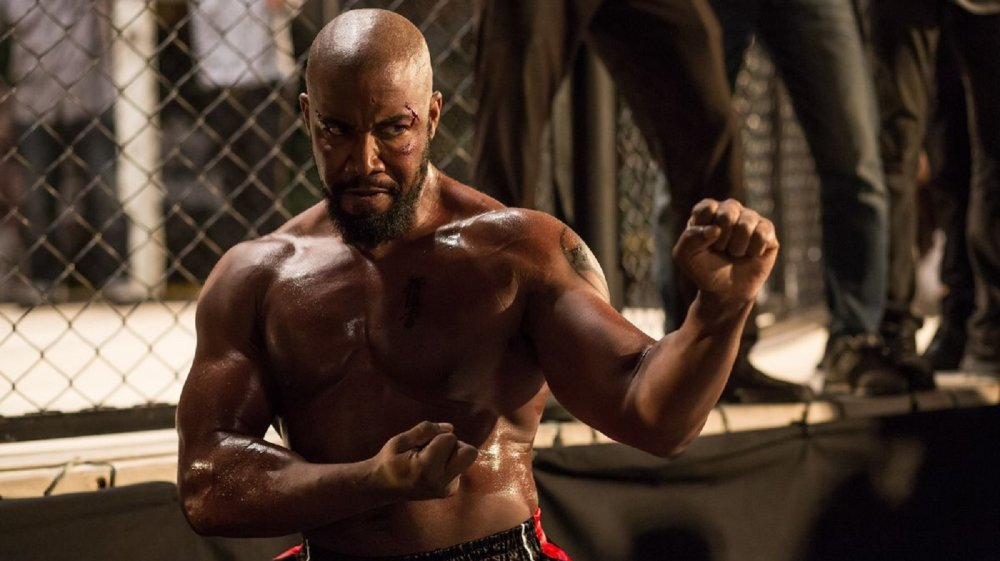 Michael Jai White in Welcome to Sudden Death