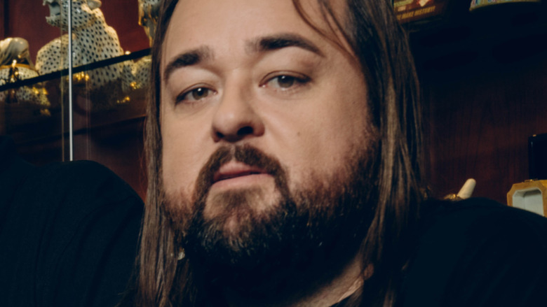 Austin Chumlee Russell posing