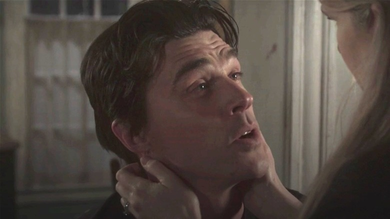 Lily Rabe consoles Finn Wittrock