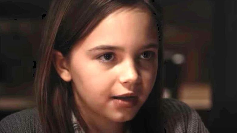 Alma smiling in American Horror Story