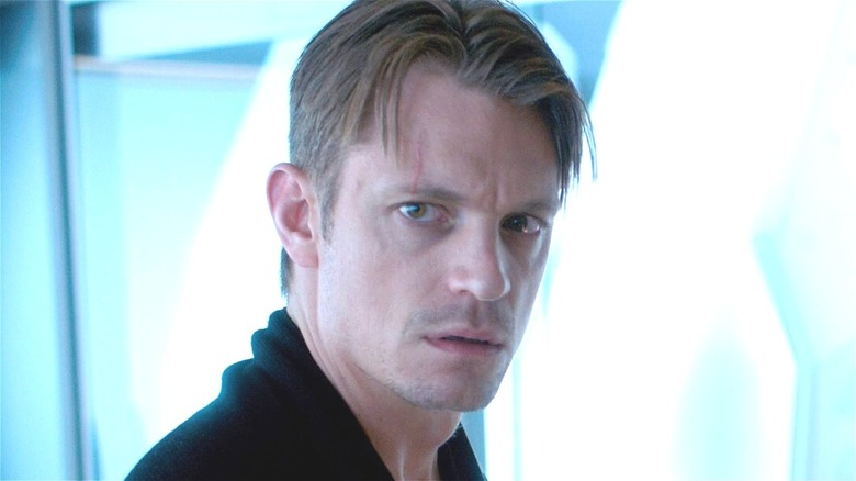 Takeshi Kovacs looking concerned on Altered Carbon