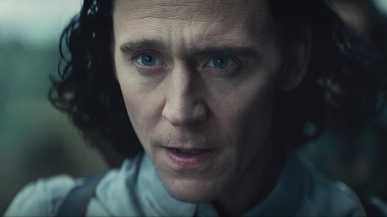 Loki determined face