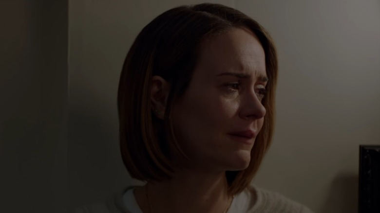 Sarah Paulson crying on American Horror Story: Cult