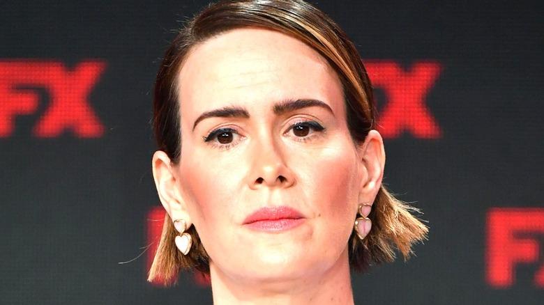 Sarah Paulson attends an FX event