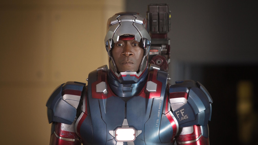 Rhodey in Iron Patriot armor