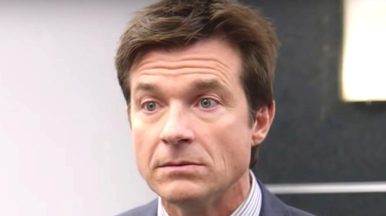 Michael Bluth looks annoyed