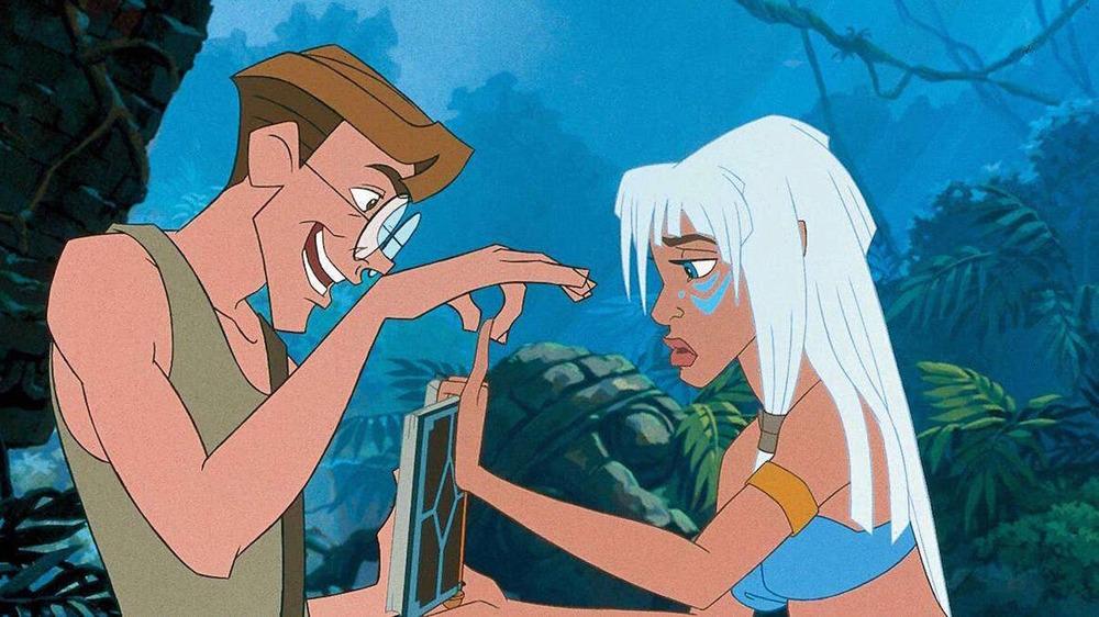 Screencap from Atlantis: The Lost Empire